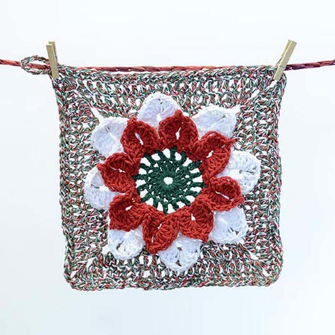 Premier® Poinsettia Washcloth