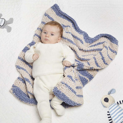 Isaac Mizrahi Knit Striped Baby Blanket Free Download