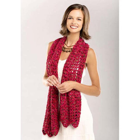 Deborah Norville Rippled Scarf Free Download