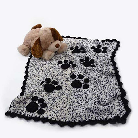 Premier® Puppy Prints Throw Free Download