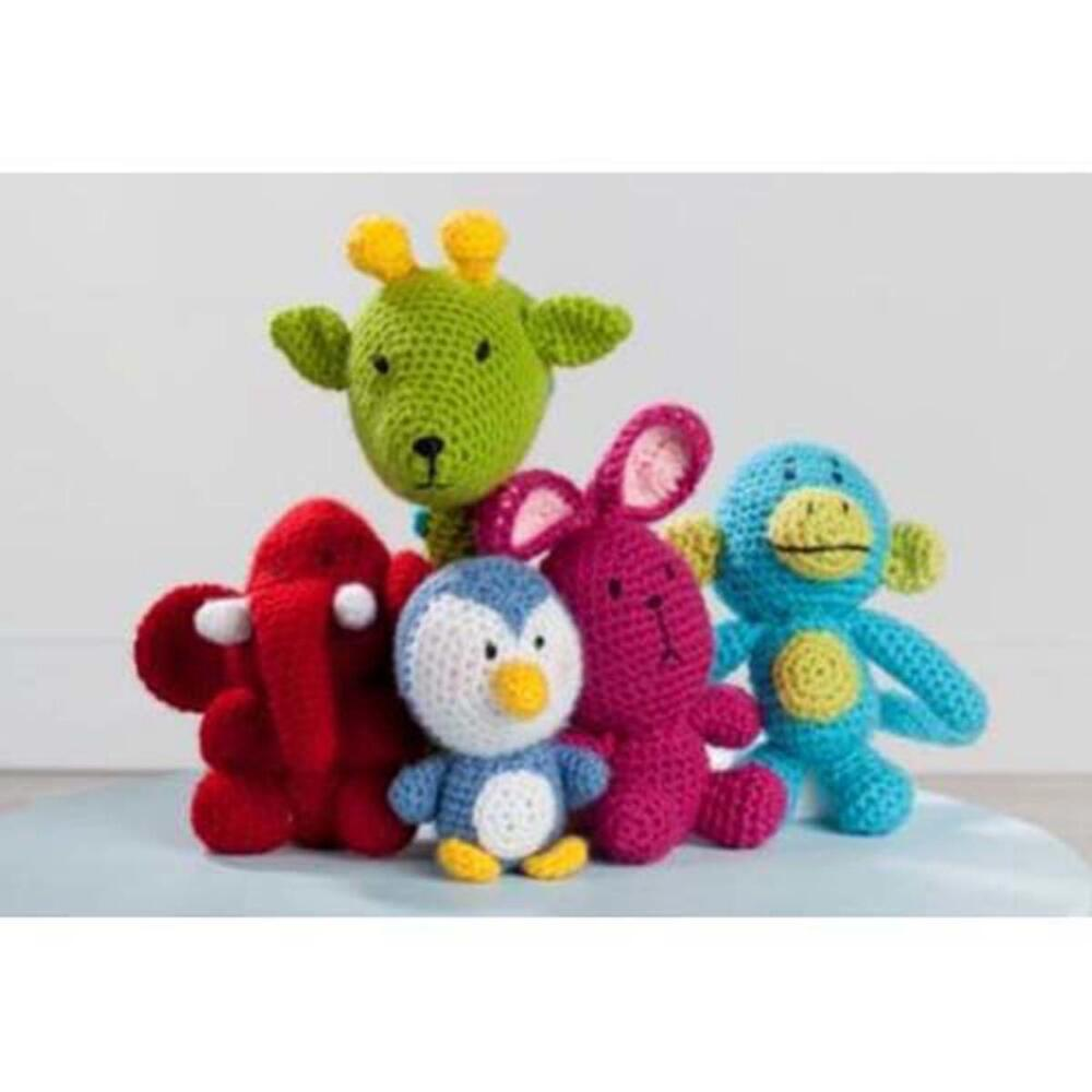 Premier Amigurumi Animals Crochet Pattern Free Download Premier Yarns