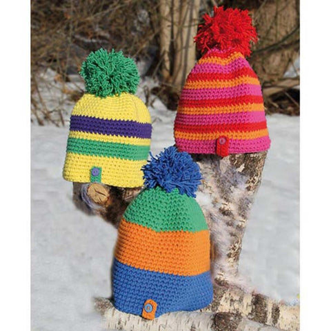 Soft Stripy Hats