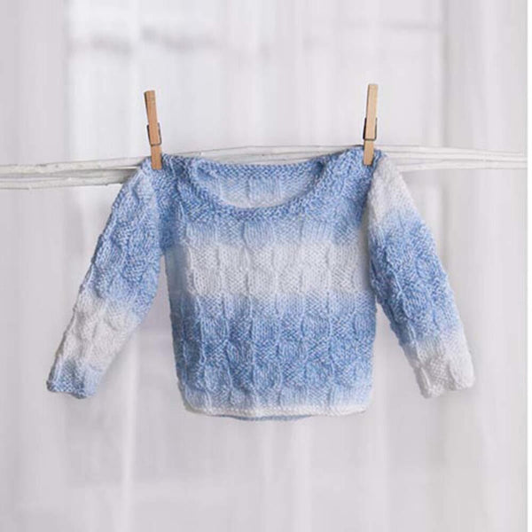Premier® Basketweave Baby Sweater Free Download