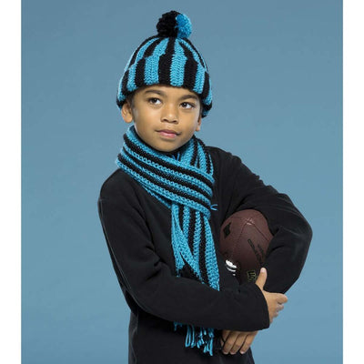 Premier® Striped Hat & Scarf Free Download