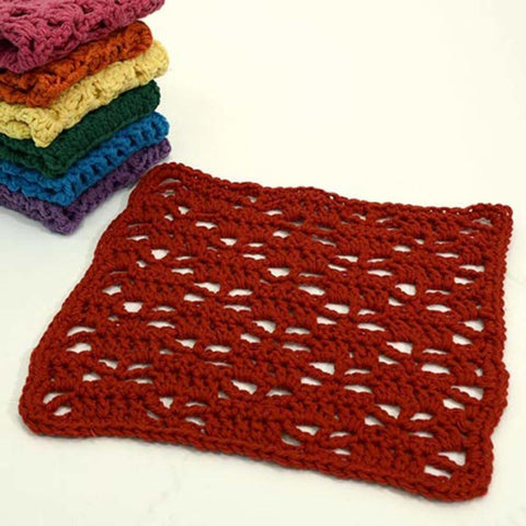 Premier® Rainbow of Washcloths - Red Free Download