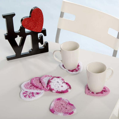 Premier® Heart Coasters and Garland Free Download