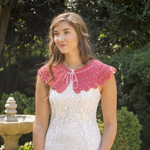 Downton Abbey Coral Shine Collar Free Download