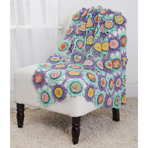 Deborah Norville Bubble Center Afghan Free Download