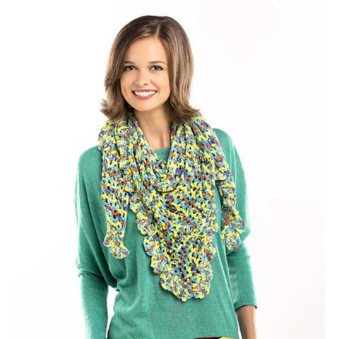 Deborah Norville Hipster Triangular Shawlette Free Download
