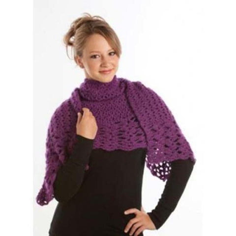 Deborah Norville Lighter than Air Shawl Crochet Pattern Free Download
