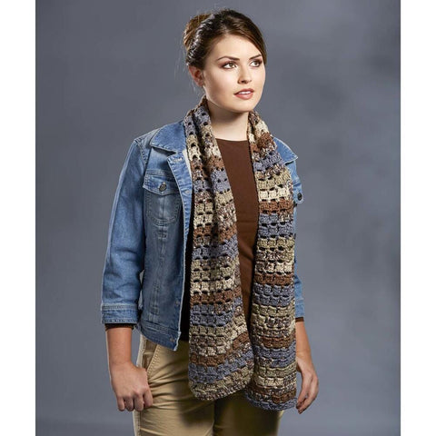 Premier® Breezy Crochet Scarf Free Download