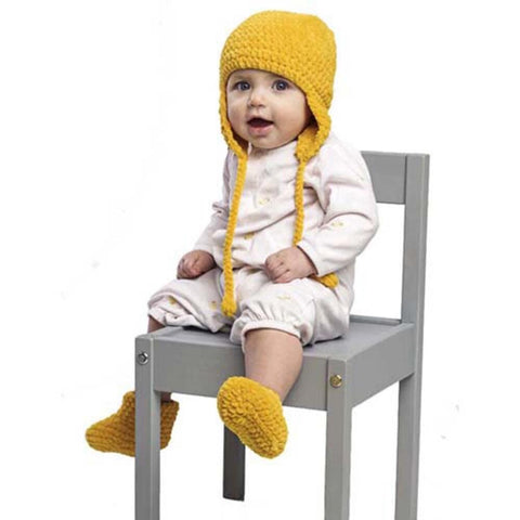Premier® Earflap Hat & Booties Free Download