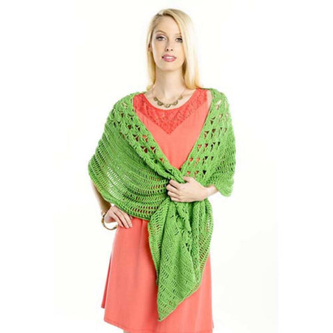 Premier® Lotus Petals Shawl Free Download