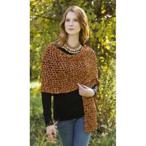 Premier® Sparkling Wrap Crochet Pattern Free Download