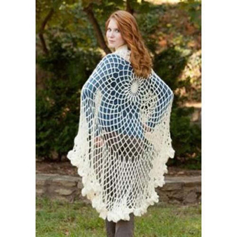 Deborah Norville Chrysanthemum Shawl Crochet Pattern Free Download