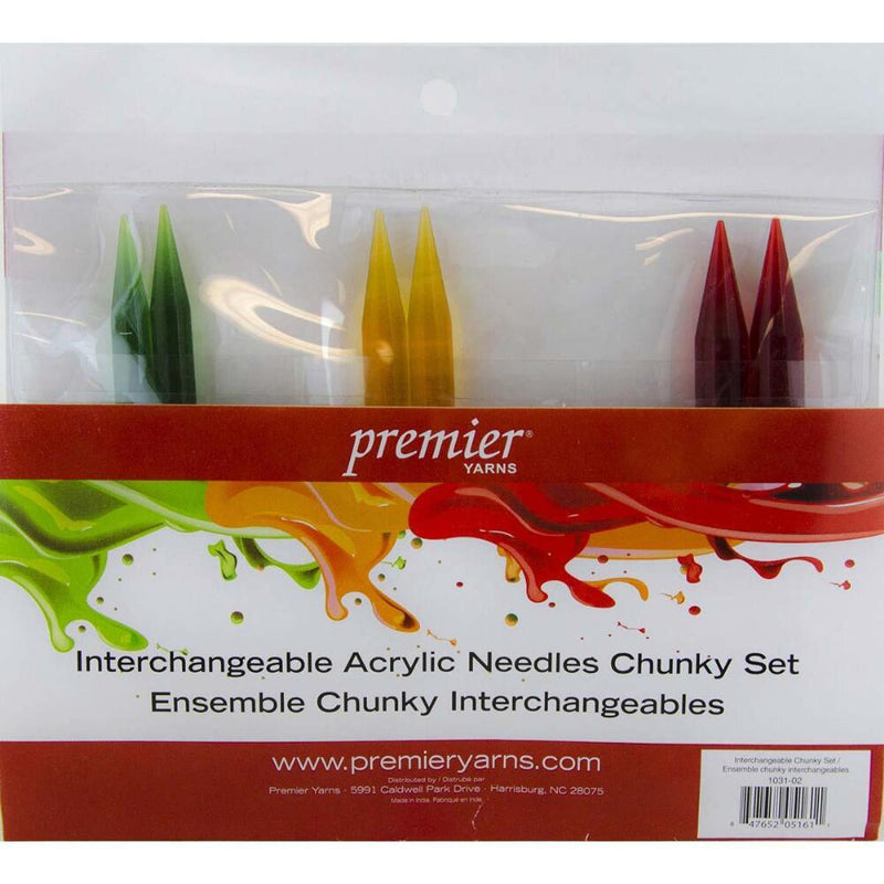 Premier® Interchangeable Acrylic Knitting Needle Set