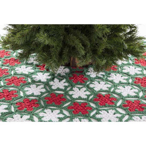 Premier® Poinsettia Tree Skirt Free Download