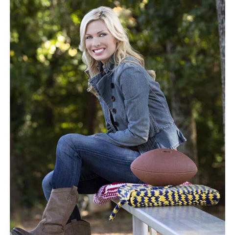 Deborah Norville Team Spirit Knit Seat Cushion Free Download