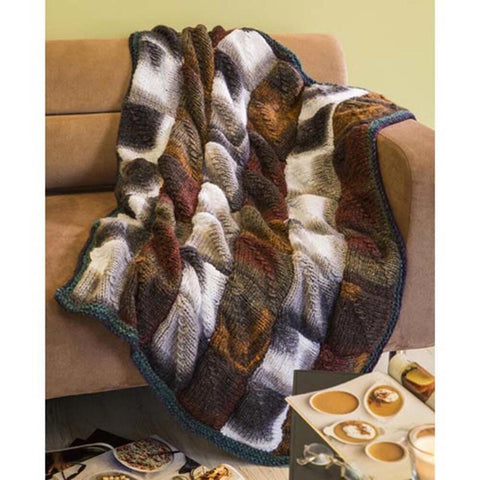 Deborah Norville Mitered Square Throw Free Download