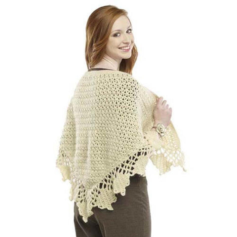Deborah Norville Crenellation Shawl Free Download