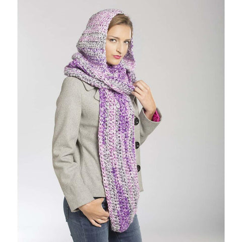 Deborah Norville Majesty Hooded Scarf Free Download