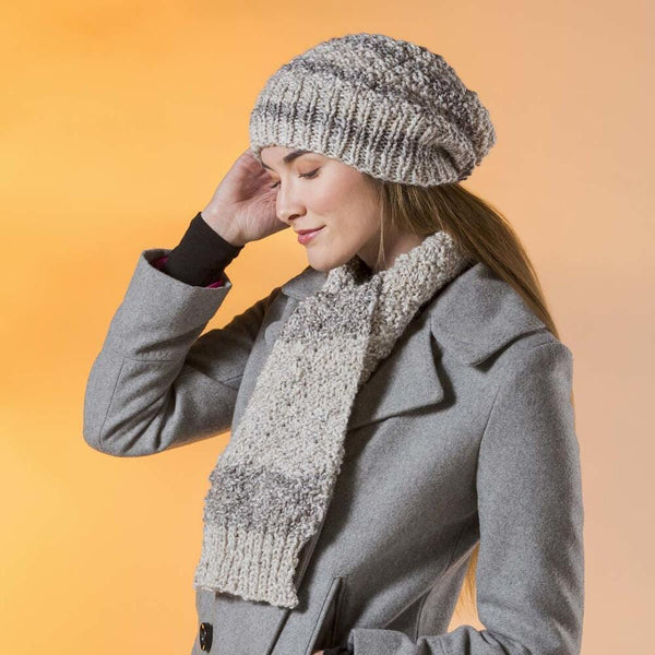 Premier® Coffee Date Hat & Scarf Free Download