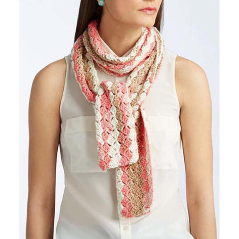 Isaac Mizrahi Brooklyn Crochet Striped Scarf Free Download