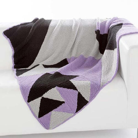 Deborah Norville Modular Triangle Throw Free Download