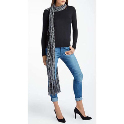Isaac Mizrahi West Village Striped Scarf Free Download