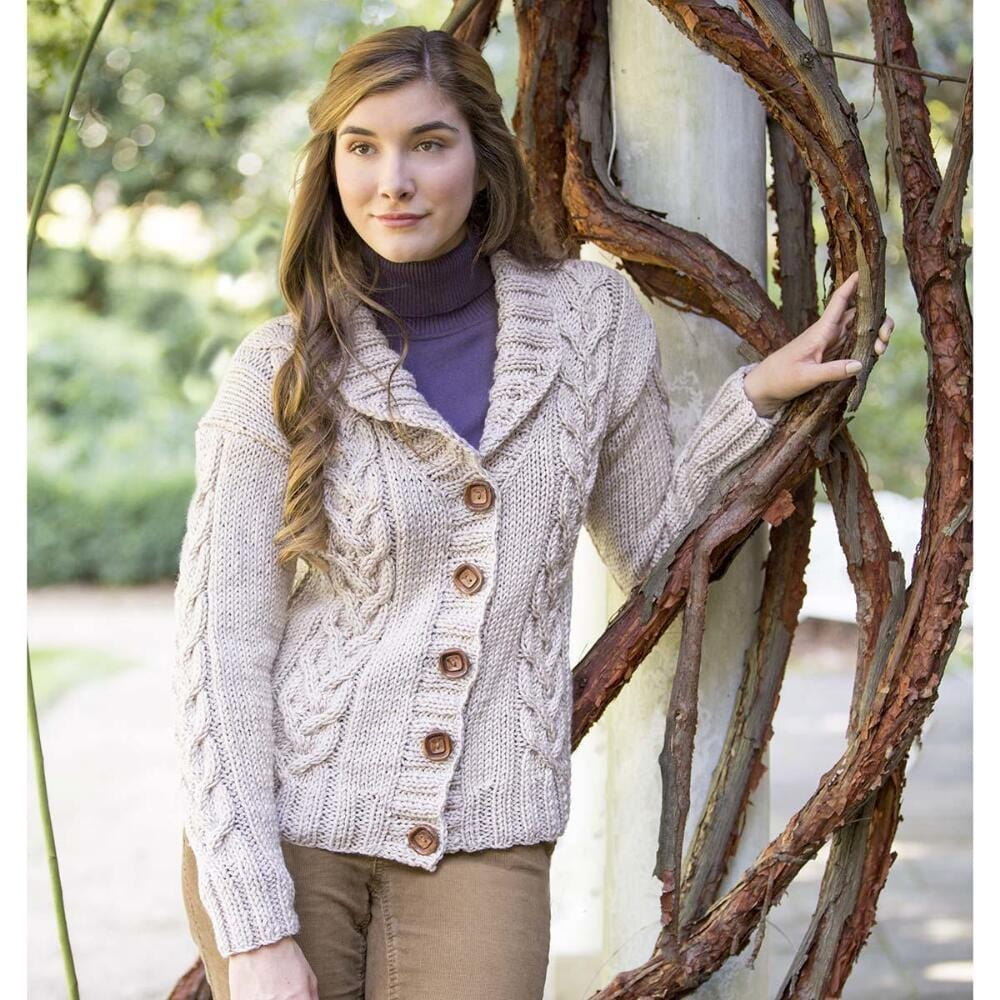 Downton Abbey Knitting Patterns : Downton Abbey Boxing Day Cardigan Free Download   Premier Yarns