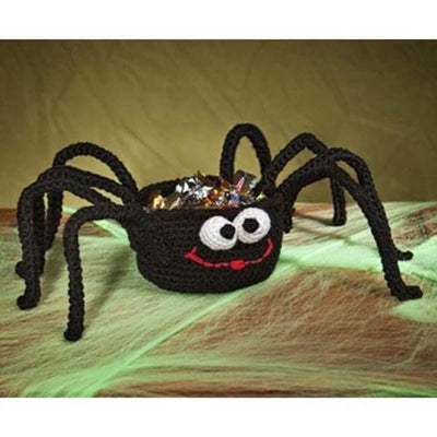 Premier® Silly Spider Treat Basket Crochet Pattern Free Download