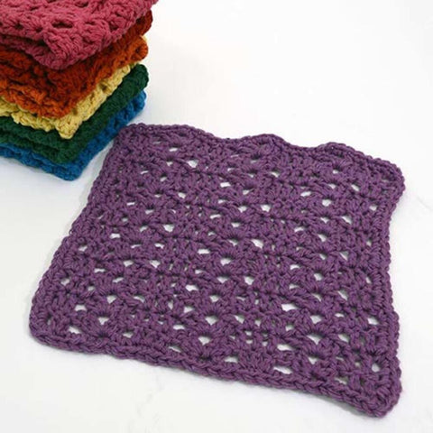 Premier® Rainbow of Washcloths - Violet Free Download