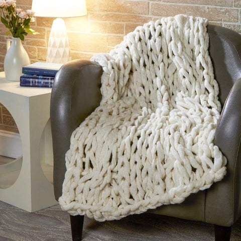 Premier® Cloudy Cable Blanket Free Download