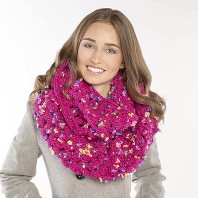 Premier® Raspberry Cluster Cowl Free Download