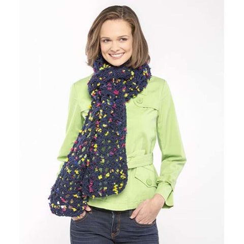 Premier® Blueberry Shells Scarf Free Download