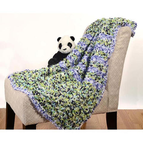 Bluebells and Clover Baby Blanket