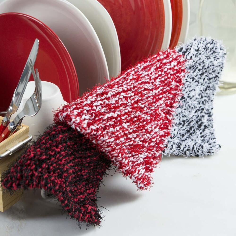 Premier® Diagonal Dishcloths Free Download – Premier Yarns
