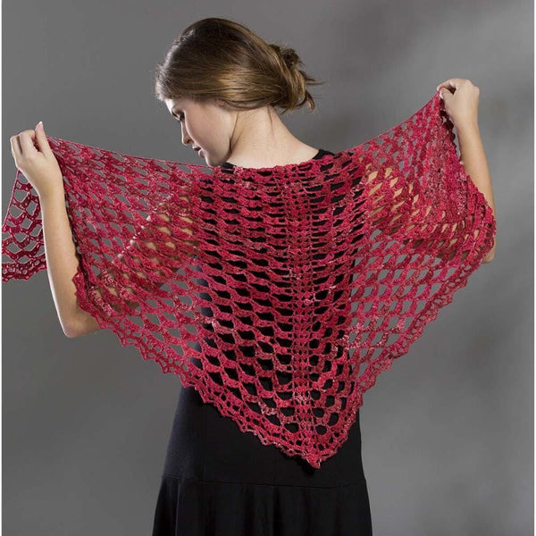 Premier® Cranberry Shawl Free Download