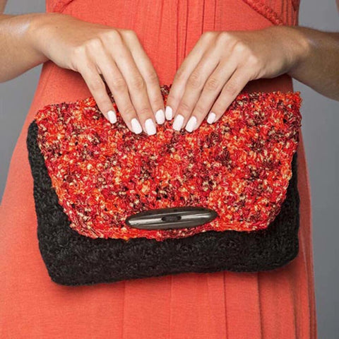 Premier® Arabian Nights Crochet Clutch Free Download