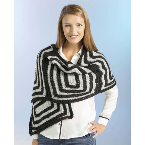 Deborah Norville Connected Rectangles Shawl Free Download