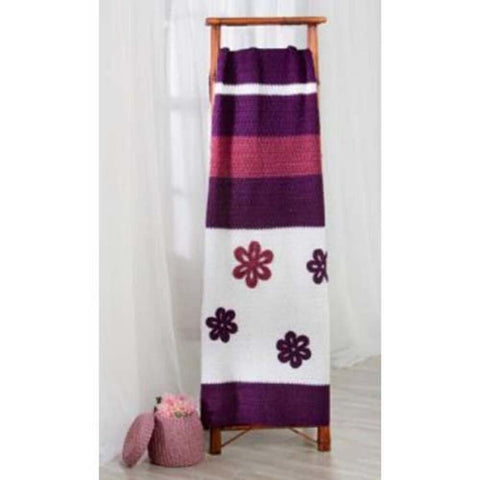 Premier® Flowers Afghan Crochet Pattern Free Download