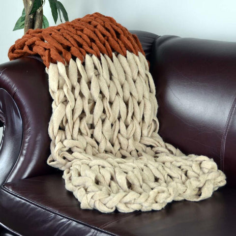 Two Tone Throw