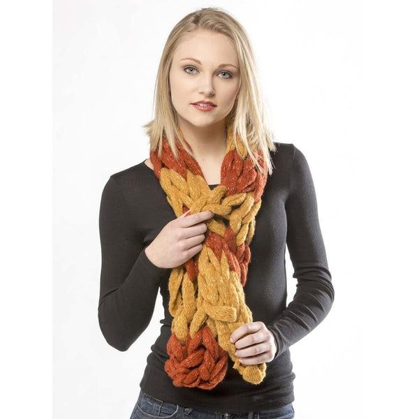 Premier® Amber Stripes Arm Knit Scarf Free Download