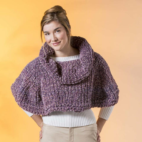 Premier® Cowl-Neck Capelet Free Download