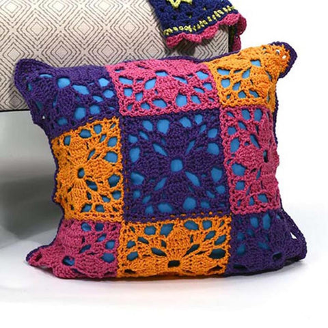 Deborah Norville Flower Patch Pillow Free Download