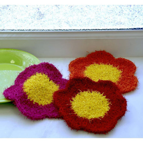 Premier® Kitchen Blossoms Dishcloths Free Download