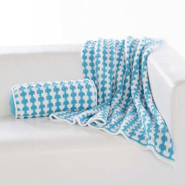 Clean & Crisp Throw and Pillow