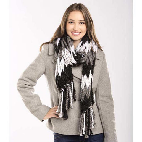 Premier® Stripy Arm Knit Scarf Free Download