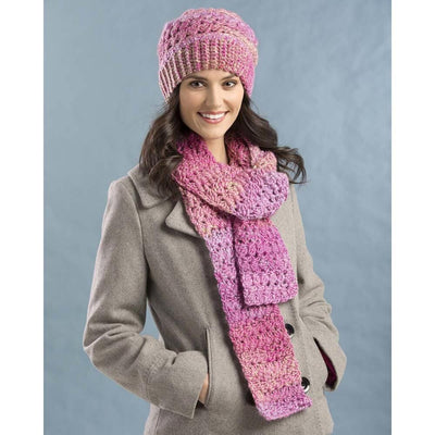 Premier® Roses Bloom Hat and Scarf Set Free Download