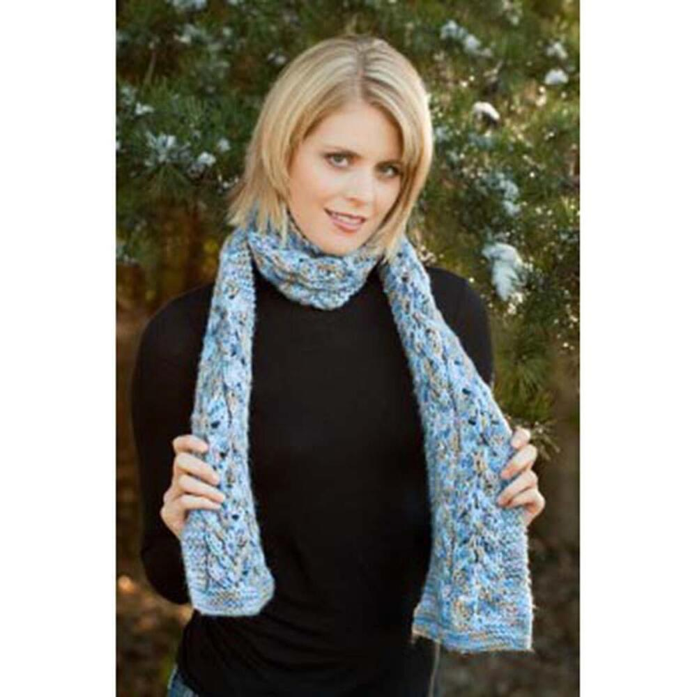 Premier Seashells Scarf Knit Pattern Free Download Premier Yarns